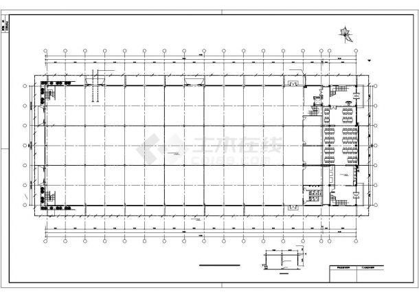 某模具钢车间厂房电气设计图纸-图二