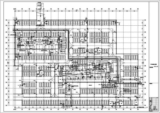 [安徽]3万平地下停车库给排水全套图纸-图二