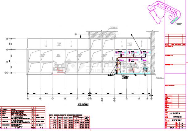 [南昌]75000㎡多层综合办公楼空调通风设计施工图-图二
