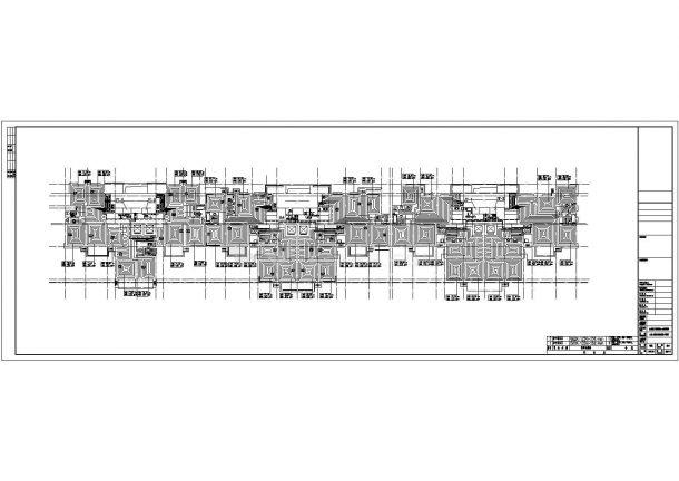 【石家庄】39745㎡广场商住楼采暖通风设计施工图-图一