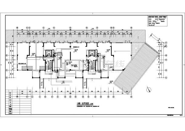 [浙江]某十一层钢筋混凝土结构安置房工程多层住宅楼智能化图纸(含人防)-图二