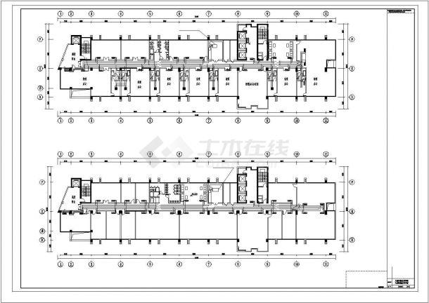 11层综合办公楼空调通风设计图全套-图一