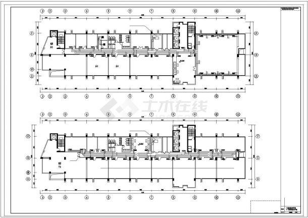 11层综合办公楼空调通风设计图全套-图二