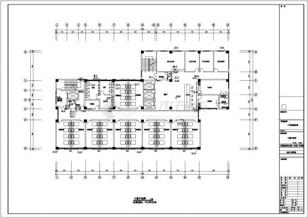 [安徽]11层医院综合楼给排水全套图纸-图二