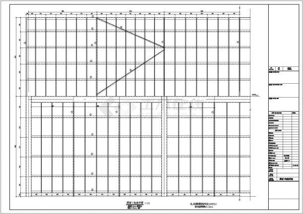 [连云港]钢结构广告牌结构设计图-图二