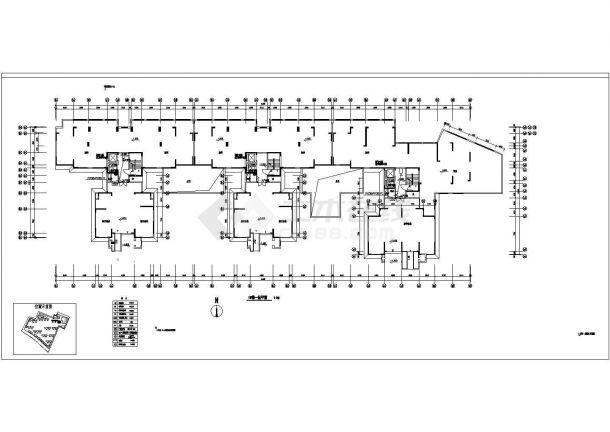 广东某18层小区智能化弱电系统图-图一