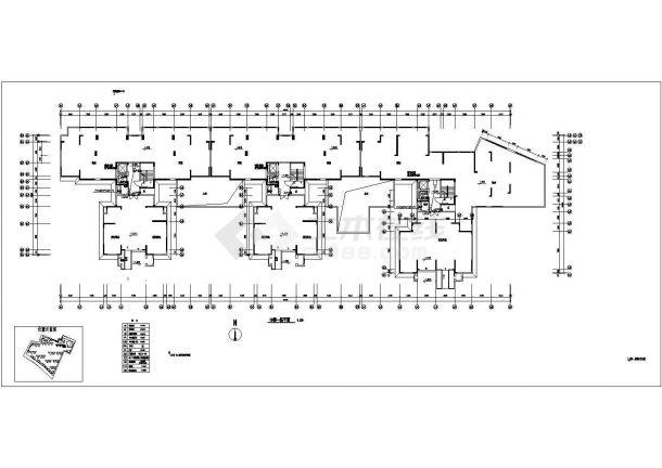 广东某18层小区智能化弱电系统图-图二