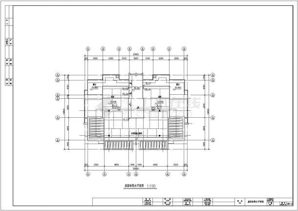 某地区小高层住宅给排水及消防设计图-图二