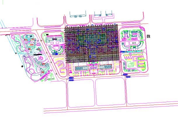 [河南许昌]城市公园园林植物配置设计施工图-图一