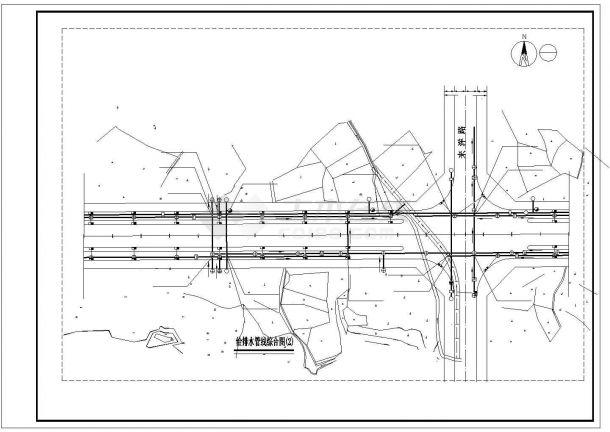 某城市环路市政给排水施工图-图一