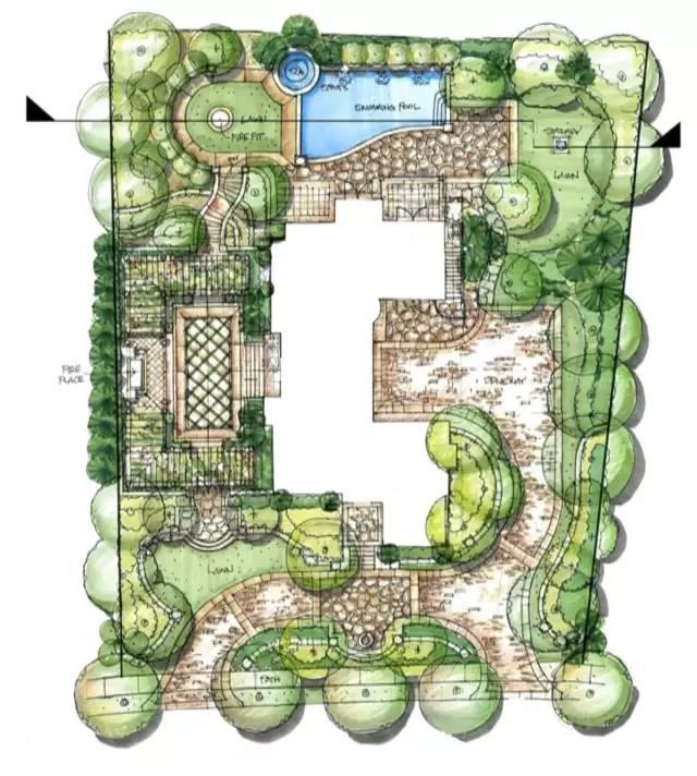 园林景观效果图图片1
