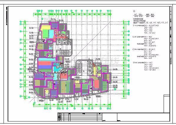 [上海]某地上二十四层住宅项目地板辐射采暖系统竣工图-图一