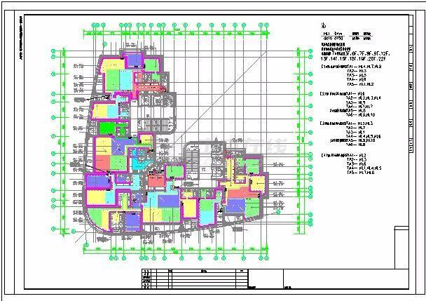 [上海]某地上二十四层住宅项目地板辐射采暖系统竣工图-图二