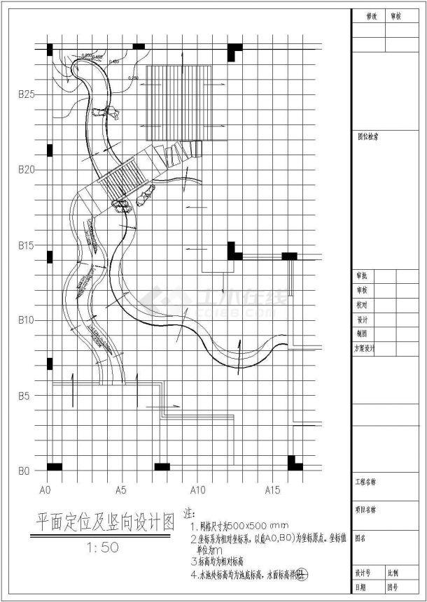 某地大型园林绿化施工详图(全套)-图二