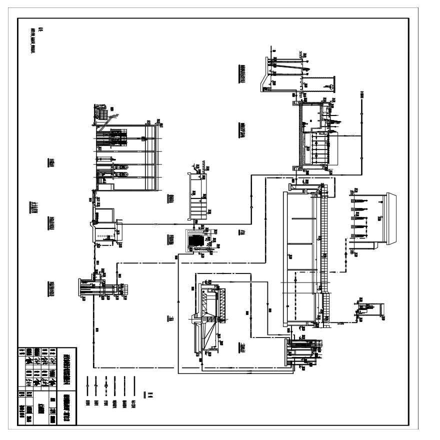 某污水处理厂管线综合布置图图片1