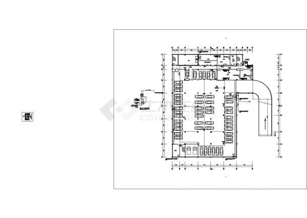 江西某五层法院给排水图纸-图一