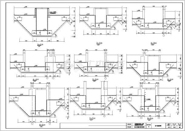 [施工图]筏板基础设计图纸-图一