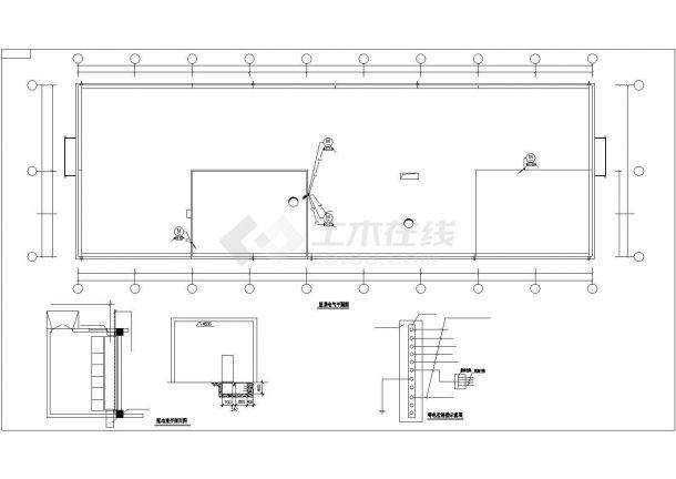 某中型工业厂房电气CAD套图-图一