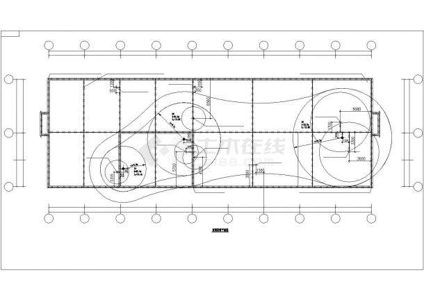 某中型工业厂房电气CAD套图-图二