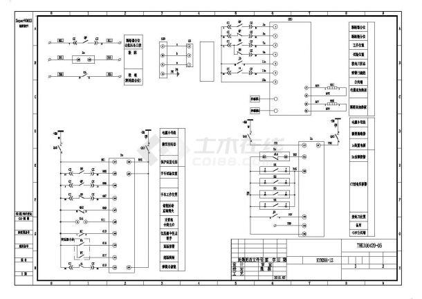 10KV变压器电气设计图-图二