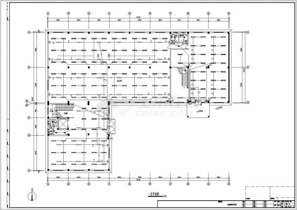 某4200平方米三层厂房电气设计图纸-图二
