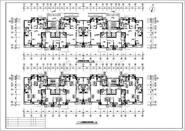某高层住宅暖通设计cad图纸,含设计说明-图一