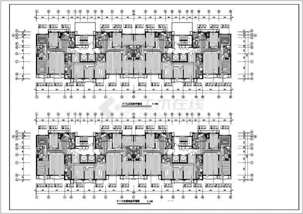 某高层住宅暖通设计cad图纸,含设计说明-图二