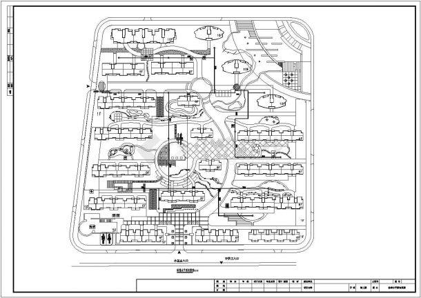 某小区景观给排水设计施工图-图二