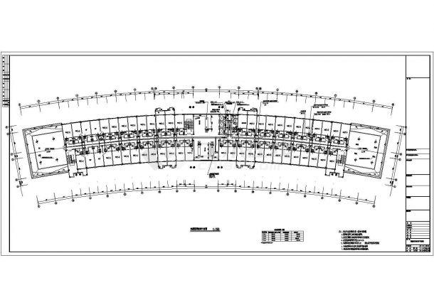 某综合办公楼空调风系统平面图-图二