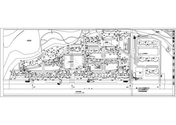 [保定]某小区室外管线综合图-图二