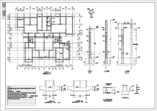 26层高层全现浇钢筋混凝土剪力墙结构住宅楼结构设计图-图二
