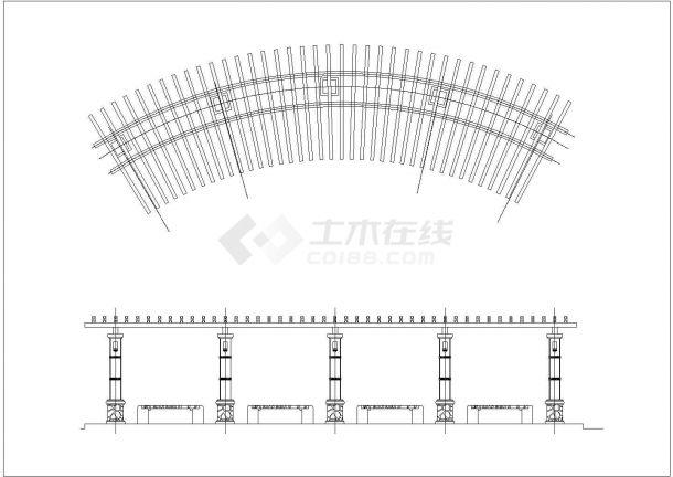 [深圳]小区园林景观工程施工图-图一