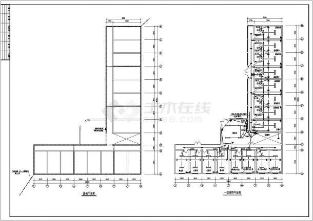某地区大型办公楼电气图(含设计说明)-图一