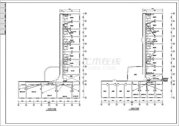 某地区大型办公楼电气图(含设计说明)-图二