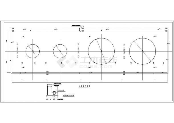 [节点详图]某油库油罐基础作法节点构造详图-图一