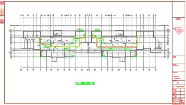 【苏州】高层住宅燃气系统设计施工图纸-图一