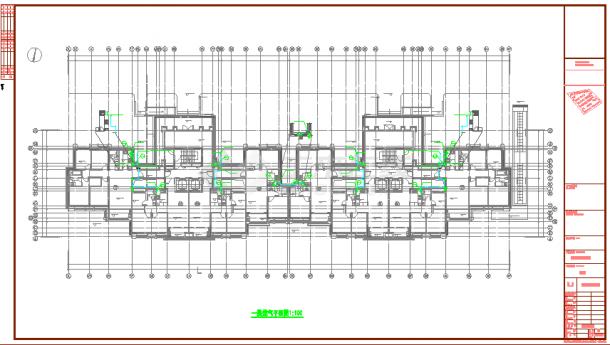 【苏州】高层住宅燃气系统设计施工图纸-图二