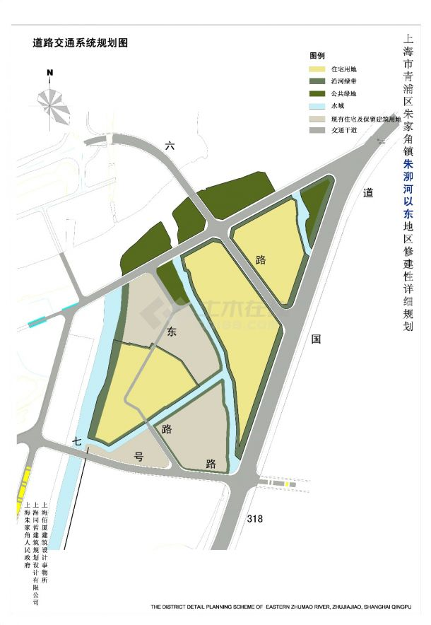[方案][上海市青浦区]某家角镇规划及建筑设计方案-图一