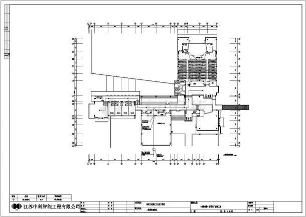 [江苏]苏州工业技术学校弱电设计全套图纸、清单、设计方案-图一