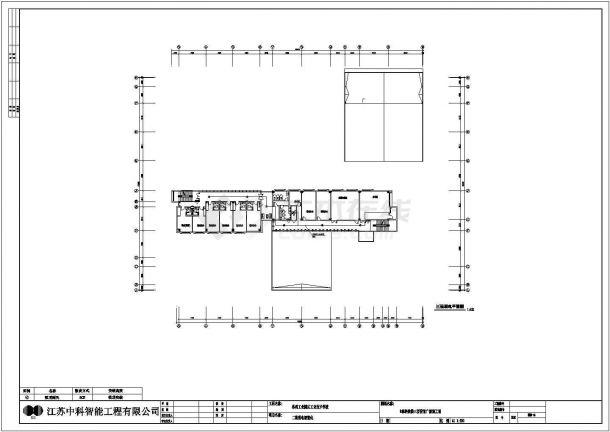[江苏]苏州工业技术学校弱电设计全套图纸、清单、设计方案-图二