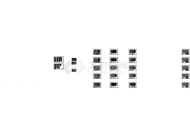 第四实验中学6#教学楼结构设计图-图一