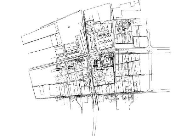 威县三个幼儿园项目建筑总平面图纸-图一