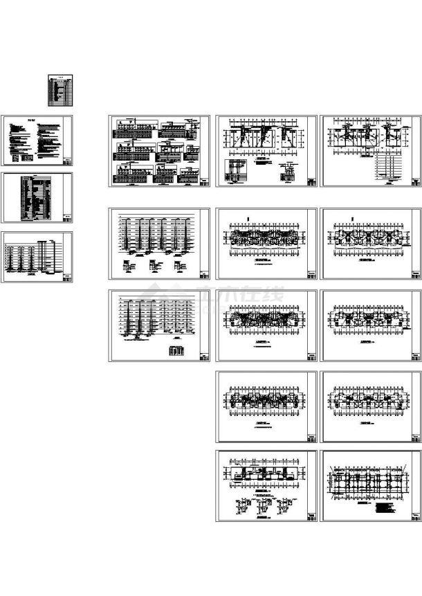 某10层花园式小区高层住宅楼群电气cad设计施工套图(含高层住宅楼弱电设计)-图一