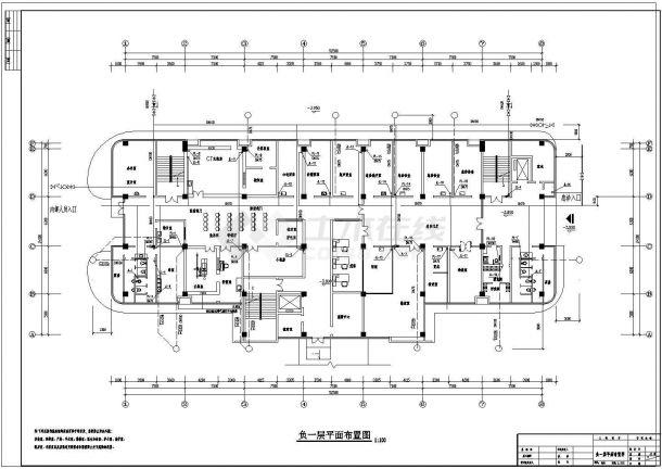 某1+7层医院综合楼给排水施工图-图二