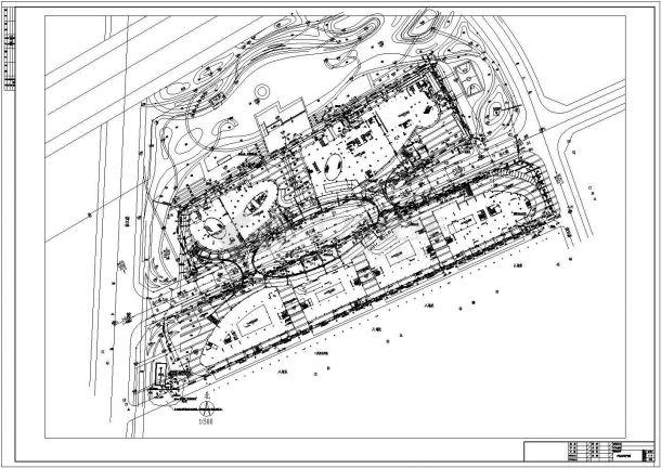 某食口工业园室外给排水管网设计图-图二