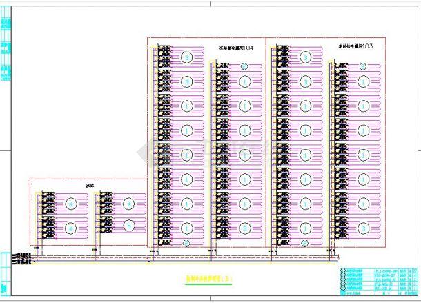 氟泵制冷机组设备布置平面图-图二