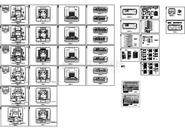 某六层综合酒店电气设计图纸-图一