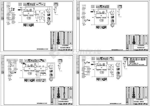92DZ1单电源单台消火栓泵电路图纸-图一