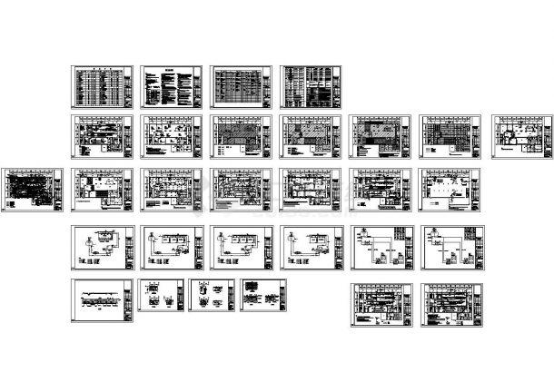 某微电子厂洁净室维护结构工程、净化通风空调工程、空调、照明配电-图一