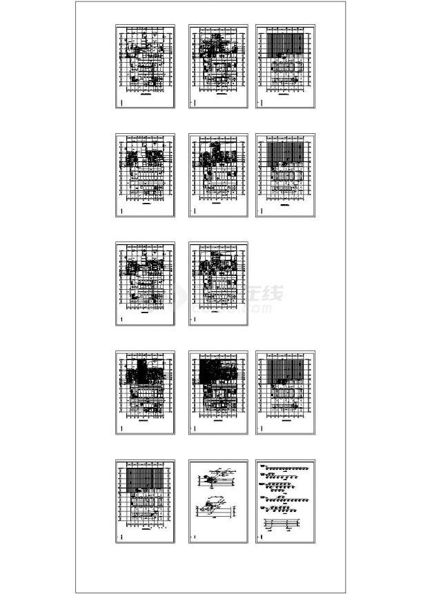 某办公厂房项目新规范的暖通设计图纸-图一